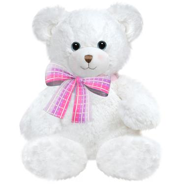 "10"" DENA Teddy Bear - White"