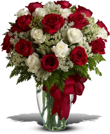 Love\'s Divine Bouquet - 24 Long Stemmed Roses