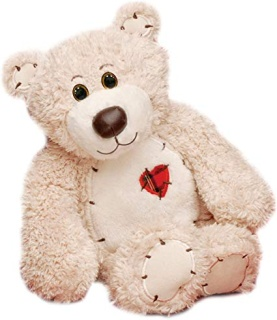 "8"" Tender Teddy, Cream"
