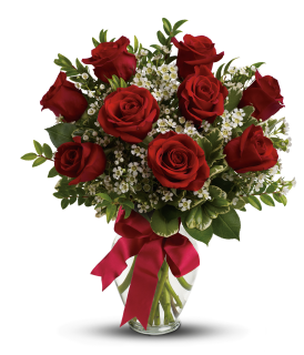 Thoughts of You MED Red Roses Premium