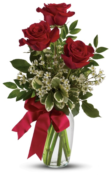 Thoughts of You Bouquet with MED Red Roses