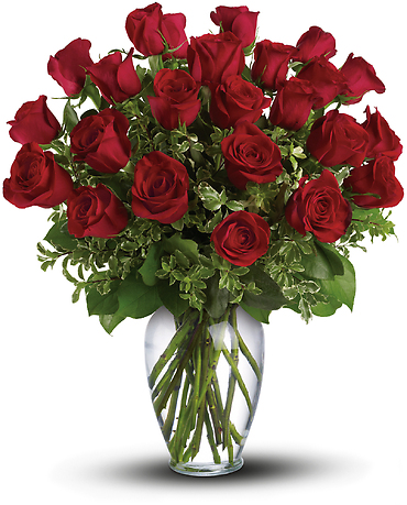 Always on My Mind - Long Stem Red Roses